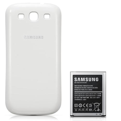 Original-Samsung-Power-Akku-Set-EB-K1G6-Galaxy-S3-i9300-LTE-i9305-Weiss-3000mAh