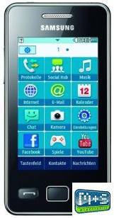 Samsung-Star-II-S5260-Handy-Neu-vom-Haendler-OVP