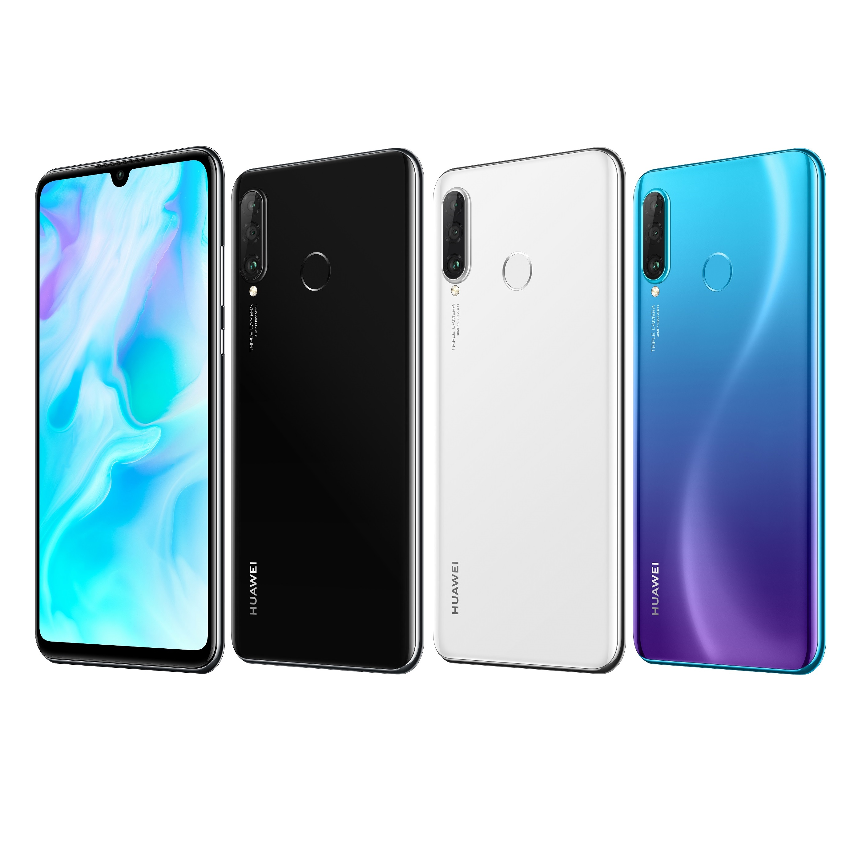 huawei p30 lite smartphone 128gb dual sim neu vom. Black Bedroom Furniture Sets. Home Design Ideas